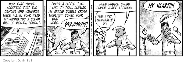 Comic Strip Darrin Bell  Candorville 2010-01-28 delusion