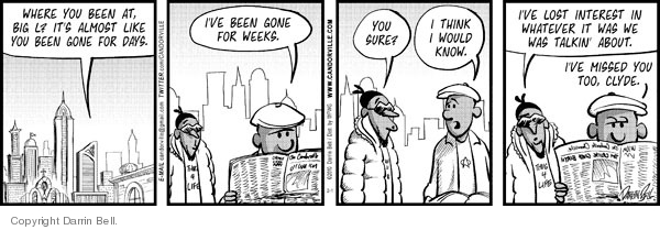 Comic Strip Darrin Bell  Candorville 2010-02-01 brown