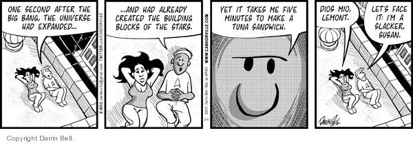 Comic Strip Darrin Bell  Candorville 2010-02-06 astronomy