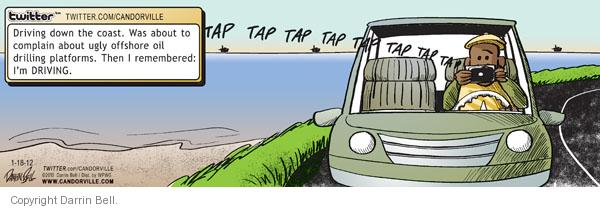 Comic Strip Darrin Bell  Candorville 2012-01-18 driver