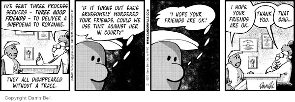 Comic Strip Darrin Bell  Candorville 2010-03-02 laws