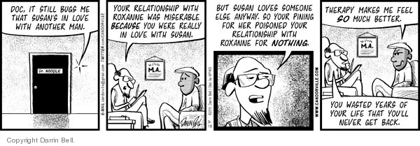 Comic Strip Darrin Bell  Candorville 2010-03-15 love