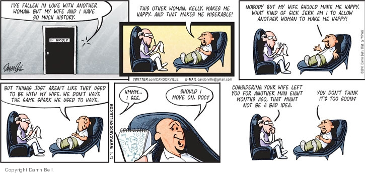 Comic Strip Darrin Bell  Candorville 2010-03-21 month