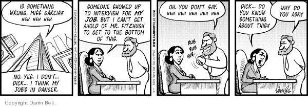 Comic Strip Darrin Bell  Candorville 2010-03-24 office