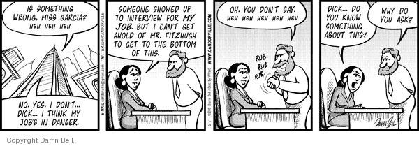 Comic Strip Darrin Bell  Candorville 2010-03-24 job interview