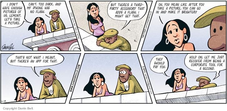 Comic Strip Darrin Bell  Candorville 2010-03-28 high