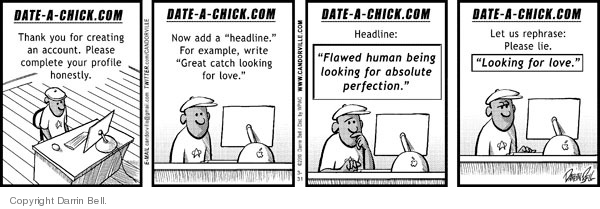 Comic Strip Darrin Bell  Candorville 2010-03-31 honesty