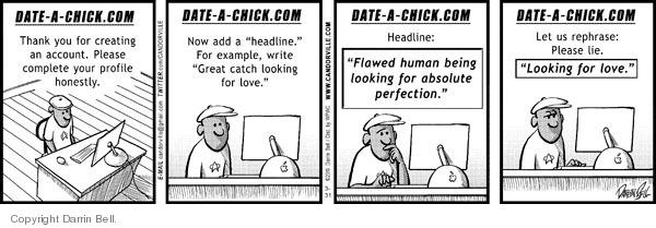 Comic Strip Darrin Bell  Candorville 2010-03-31 love