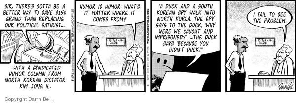 Comic Strip Darrin Bell  Candorville 2010-04-06 dictator