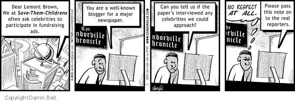 Comic Strip Darrin Bell  Candorville 2010-05-01 organization
