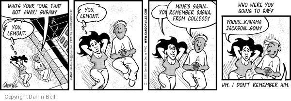 Comic Strip Darrin Bell  Candorville 2010-05-03 Jackson