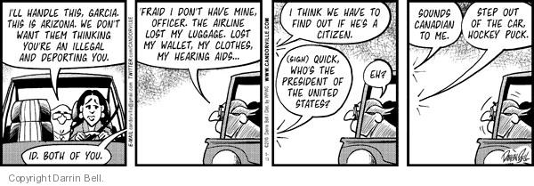 Comic Strip Darrin Bell  Candorville 2012-05-03 illegal immigrant