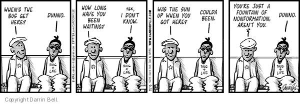 Cartoonist Darrin Bell  Candorville 2010-05-22 wait