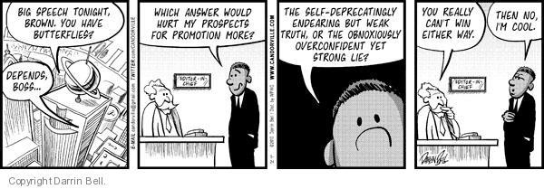 Comic Strip Darrin Bell  Candorville 2010-05-24 promotion