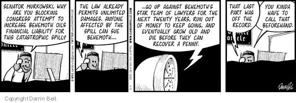 Comic Strip Darrin Bell  Candorville 2010-05-27 laws