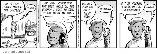 Comic Strip Darrin Bell  Candorville 2010-06-03 call