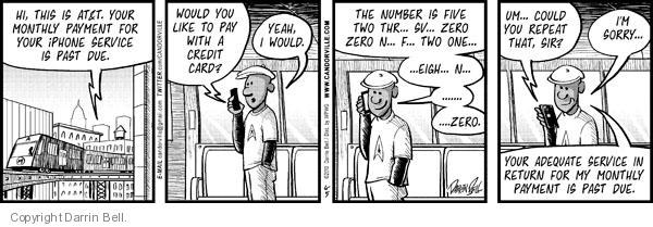 Comic Strip Darrin Bell  Candorville 2010-06-05 cell phone number