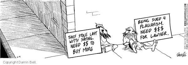 Comic Strip Darrin Bell  Candorville 2010-06-09 $$$