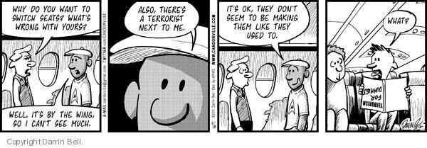Comic Strip Darrin Bell  Candorville 2010-06-18 passenger