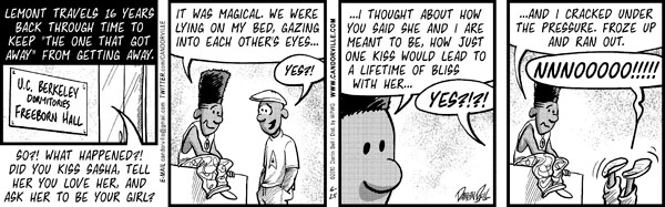 Comic Strip Darrin Bell  Candorville 2010-06-25 back to school