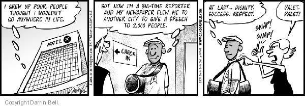 Comic Strip Darrin Bell  Candorville 2010-06-28 newspaper