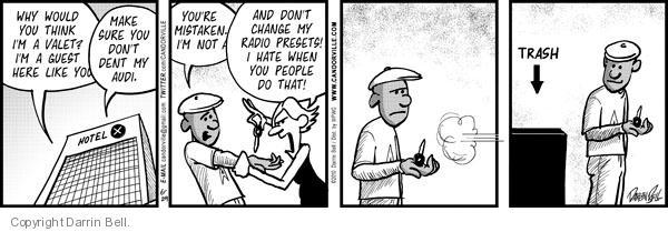 Comic Strip Darrin Bell  Candorville 2010-06-29 trash