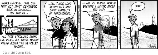 Comic Strip Darrin Bell  Candorville 2010-07-02 walk