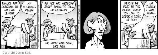 Comic Strip Darrin Bell  Candorville 2010-07-07 something
