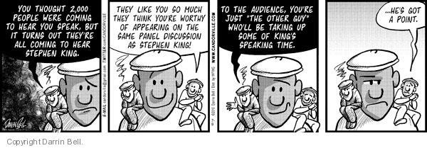Comic Strip Darrin Bell  Candorville 2010-07-09 fame