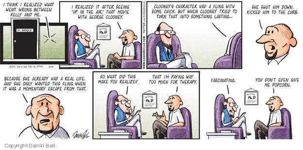Cartoonist Darrin Bell  Candorville 2010-07-11 doctor