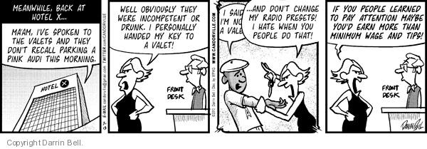 Comic Strip Darrin Bell  Candorville 2010-07-13 personally