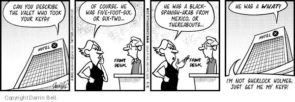 Comic Strip Darrin Bell  Candorville 2010-07-14 Mexico