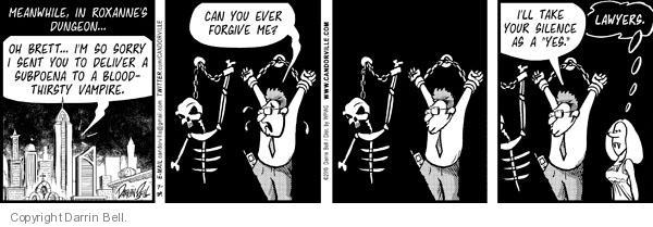 Comic Strip Darrin Bell  Candorville 2010-07-29 apologize