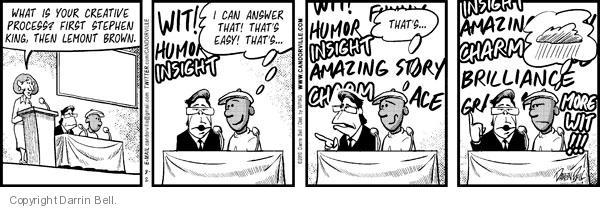 Comic Strip Darrin Bell  Candorville 2010-08-02 more