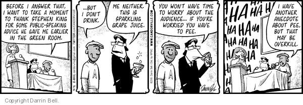Comic Strip Darrin Bell  Candorville 2010-08-06 public speaking
