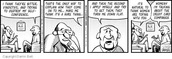 Comic Strip Darrin Bell  Candorville 2010-08-14 vindictive