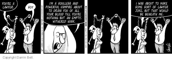 Comic Strip Darrin Bell  Candorville 2010-08-20 empty