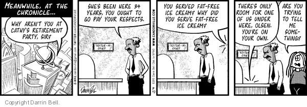 Comic Strip Darrin Bell  Candorville 2010-08-23 fat free