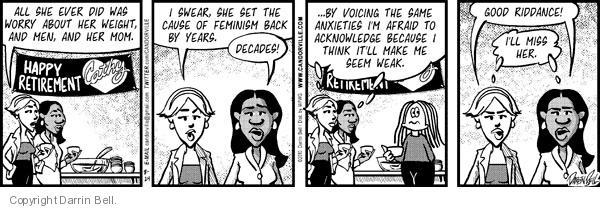 Comic Strip Darrin Bell  Candorville 2010-08-24 colleague