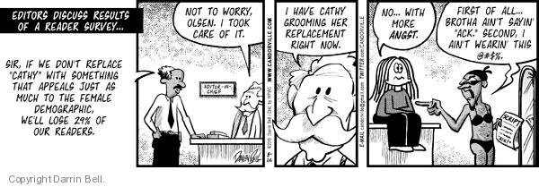 Comic Strip Darrin Bell  Candorville 2010-08-26 readership