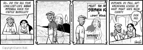 Comic Strip Darrin Bell  Candorville 2010-09-09 echo