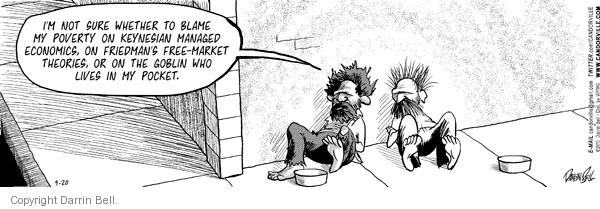 Comic Strip Darrin Bell  Candorville 2010-09-20 free market