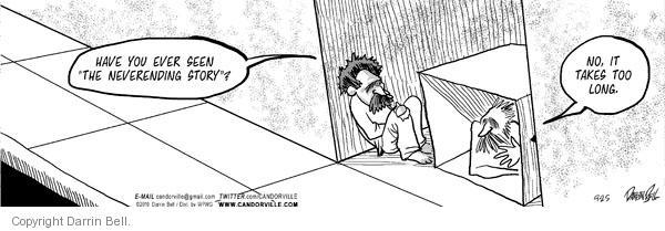 Comic Strip Darrin Bell  Candorville 2010-09-25 patience