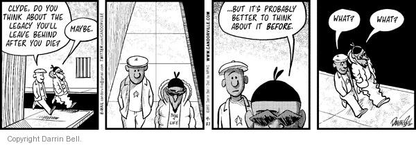 Comic Strip Darrin Bell  Candorville 2010-09-27 anticipation