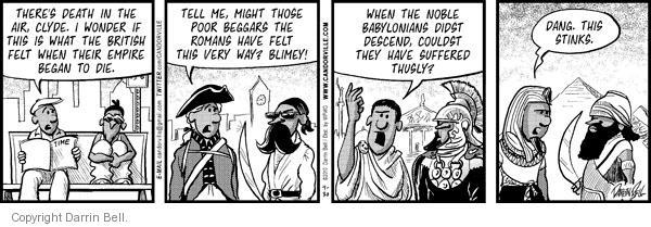 Comic Strip Darrin Bell  Candorville 2010-09-30 American History