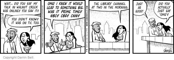 Comic Strip Darrin Bell  Candorville 2010-10-06 acronym abbreviation