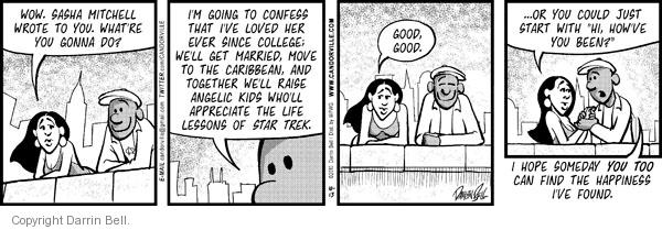 Comic Strip Darrin Bell  Candorville 2010-10-13 marriage communication