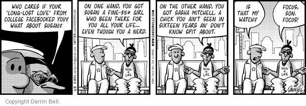 Comic Strip Darrin Bell  Candorville 2010-10-19 dilemma