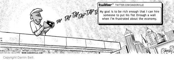 Comic Strip Darrin Bell  Candorville 2010-10-29 weblog