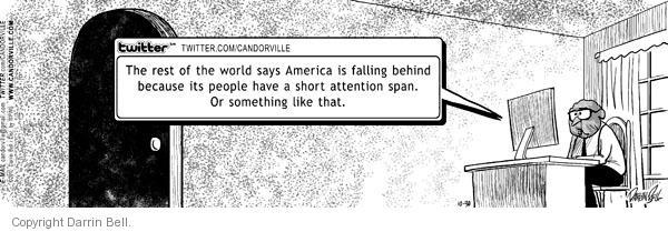 Comic Strip Darrin Bell  Candorville 2010-10-30 weblog